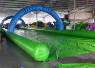 China Funny Inflatable Slip N Slide Water Slides Street 1200m Long Slip And Slide factory