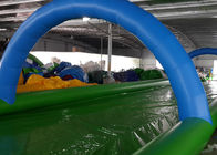 Funny Inflatable Slip N Slide Water Slides Street 1200m Long Slip And Slide