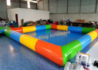 China 0.65mm PVC Tarpaulin Inflatable Swimming Pools For Kids And Adults Outdoor Use factory