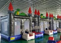 China Custom 4 X 4m Dragon Inflatable Bouncy Castle With Blower For KIds factory