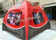 China Red PVC Tarpauline Inflatable Event Tent Igloo For Exhibition , Inflatable Marquee factory
