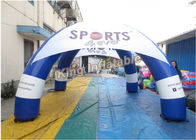 China Customized Blue Inflatable Spider Tent For Advertising Size , Diameter 5m factory