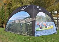 Custom Full Cover Airtight Spider Inflatable Event Tent For Advertising