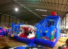 China Outdoor Games Ocean World Inflatable Jumping Castle With Slide For Kids And Adults factory