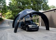 Durable Attractive Small Black Inflatable Event Tent for Car Parking
