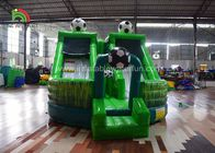 Kids Outdoor Giant Inflatable Jumping Castle / Soccer Bounce House