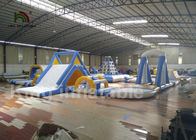 Amusement Sea Giant Hurdle Inflatable Water Parks With 2 Years Warranty
