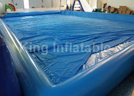 Giant Rectangular 20 X 15m Inflatable Swimming Pools Durable And Airtight
