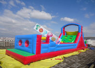China Inflatable Amusement Park Giant PVC Children Outdoor Inflatable Obstacle Course company
