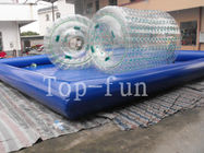 Transparent Inflatable Water Roller For Sea / Lake / Swimming Pools