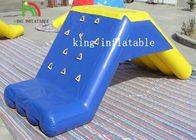 China Custom Stable Inflatable Water Toys PVC Floating Slide For Water Park With Air Pump factory