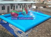 12 x 8 x 0.65mm  PVC  tarpaulin Inflatable Swimming Pools unti-ruptured