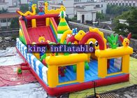 China Inflatable Disney Amusement Park With Mickey Mouse And Donald Duck factory