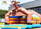 China Giant Cowboy Inflatable Bouncy Castle For Adults And Kids To Celebrate factory