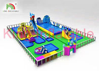 China Custom Outdoor Multitheme Inflatable Water Slide Park For Play Centre company