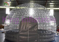 China Water Resistant Inflatable Bubble Tent For Backyard / Park / Camping / Rental factory