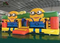 China Colorful Minions Commercial Bounce Houses CE Digital Printing PVC Jumping Ground factory