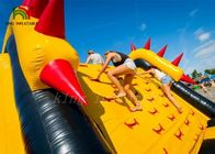 EN14960 Inflatable Sports Games / Inflatable Obstacle Course With CE Blower