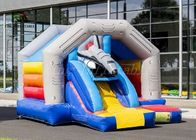 Fantastic Universe Trip Commercial Bounce Houses With Rocket Slide CE UL