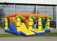 0.55mm PVC Tarpaulin Inflatable Commercial Bounce Houses Combo Playground