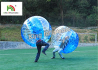 China 1.0mm PVC Inflatable Bumper Ball Transparent Bubble Ball For Football Games company