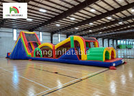 Giant Inflatbale Sport Games Blow UP Obstacle Course For Kids 2 Years Warranty