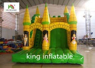 China Oxford Fabric Bouncy House Kids Mini Jumper Castle For Entertainment factory