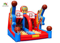 Customized Basketball Shooting Inflatable Sports Games For Adults Oxford
