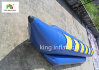 6 Seats Blue Inflatable Fly Fishing Boats Water Boat PVC Tarpaulin