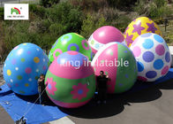 Custom Easter Egg Inflatable Advertising Balloons With Digital Printing
