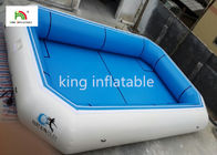 Blue Plato Material Portable Inflatable Swimming Pools CE EN14960 SGS