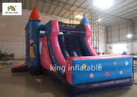 Princess School Inflatable Jumping Castle For Girls Outdoor Activity Oxford