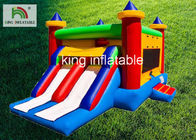 China Digital Printing Inflatable Jumping Castle For School Activity Fire Retardant factory