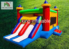 Digital Printing Inflatable Jumping Castle For School Activity Fire Retardant