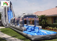 Outside Giant Inflatable Water Slide For Adults Entertainment PVC Tarpaulin