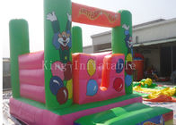 Customized Festival Amusement Commercial Bounce Houses For Kits