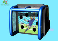 China 6*4m Inflatable Sports Games Basketball Shooting Playing Center 14 Months Warranty factory
