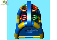 6 Holes Inflatable Sports Games Basket Ball Shooting For Amusement Park