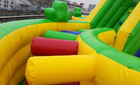 Outdoor Inflatable Amusement Park / Children Playground Equipment For Amusement