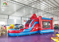 Customized Jump And Slide Bouncer Rental , Commercial Inflatable Bounce House