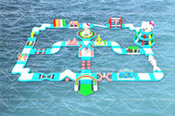Cat Theme Bespoke Design Inflatable Floating Water Games Park For 2020 Summer Obstacle Course Water Games