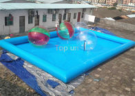 China 12 x 8 x 0.65mm  PVC  tarpaulin Inflatable Swimming Pools unti-ruptured company