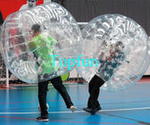 Football Bouncer Play Inflatable Body Bumper Ball , Competitive Games Body Bumper Roll