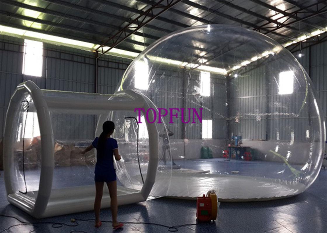 Tente ballon transparents gonflables romantiques de bulle de pvc d 39 oem 0 - Tente bulle transparente achat ...