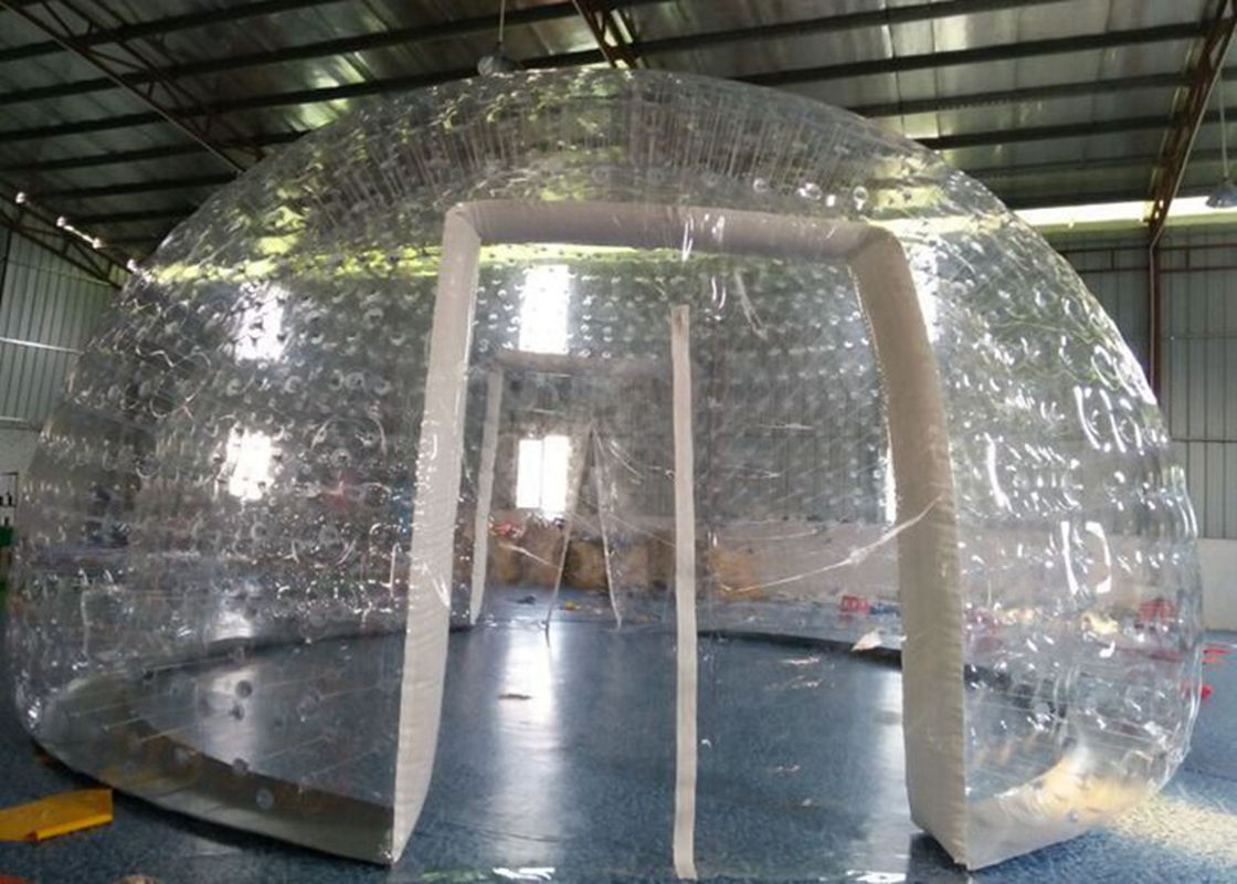Transparent Bubble Tent Popular Transparent Pvc Inflatable Bubble Tent With Two