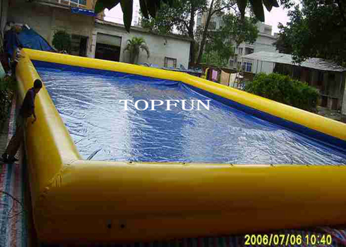 Ce Pvc Tarpaulin Large Inflatable Swimming Pool Outdoor Amusement Park