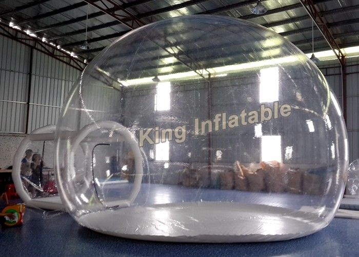 0.5mm PVC Transparent Inflatable Tent Clear Air Bubble Tent With Single Layer & 0.5mm PVC Transparent Inflatable Tent Clear Air Bubble Tent With ...
