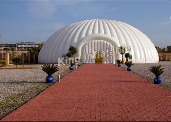 Giant Diameter 8m Dome Inflatable Event Tent , Party Inflatable Igloo Tent