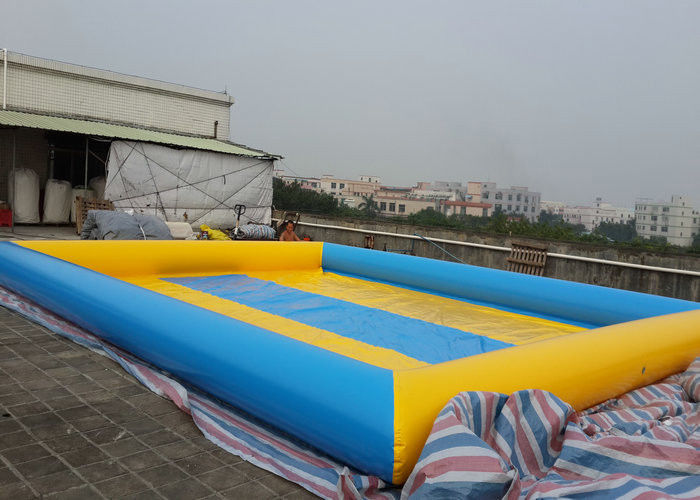 Commercial Large Inflatable Swimming Pools Multi Color For Summer Water Park 8m