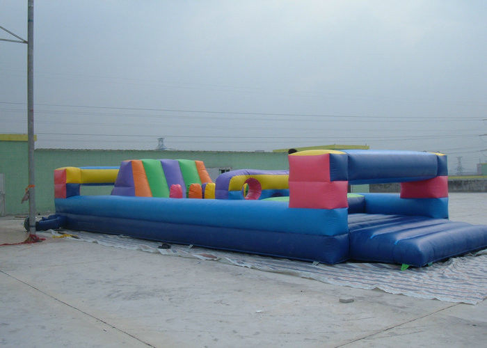 Durable Commerical grade inflatable obstacle course , PVC Inflatable Amusement Park Toy